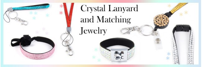 Crystal Lanyards