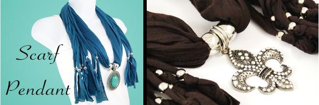Scarf Necklaces