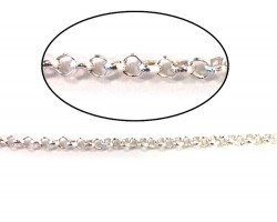Silver Shiny 5mm Rolo Chain