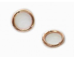 8mm Copper Plate Jump Ring