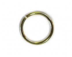 10mm Gold Plate Jump Ring
