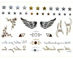 Silver Gold Temp Jewelry Tattoos