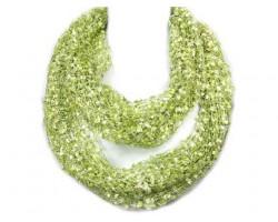 Light Green Lightweight Confetti Knit Infinity Scarf