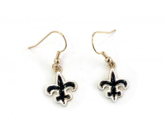 Fleur-De-Lis Hook Earrings