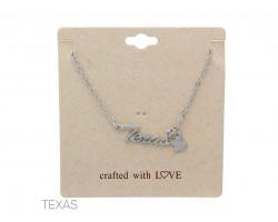 Silver Matte Texas Chain Necklace