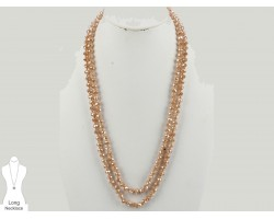 LCT Rondell Long Crystal Necklace
