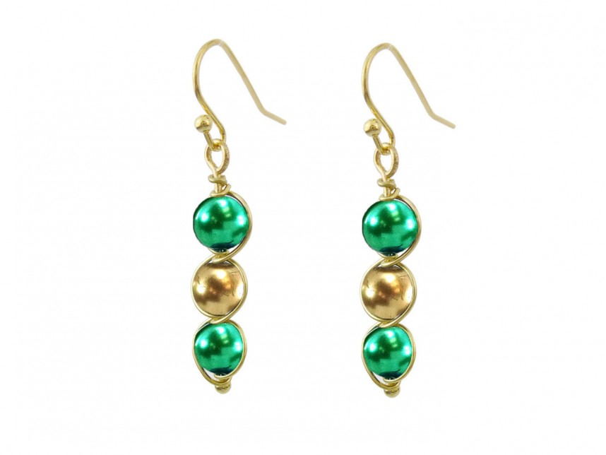 luxury millenium and design with cluster gold filled chrome kyanite in malachite earrings green diopside the