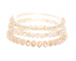 LCT Crystal Stretch Bracelets 3 Set