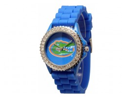 Florida Gators Large Silicone Crystal Watch