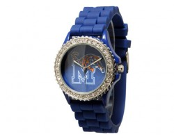 Memphis Tigers Large Silicone Crystal Watch