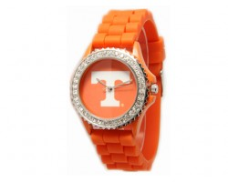 Tennessee Volunteers Large Silicone Crystal Watch
