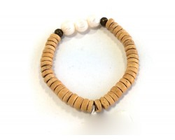 Fresh Water Pearls 12mm Coconut Heshi Bracelet