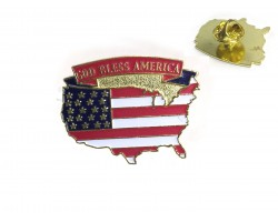 USA Flag Tie Tac God Bless America Dz Pack