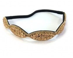 LCT Crystal Wavy Stretch Headband
