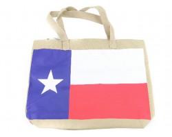 Red White Blue Texas Flag Tote Bag
