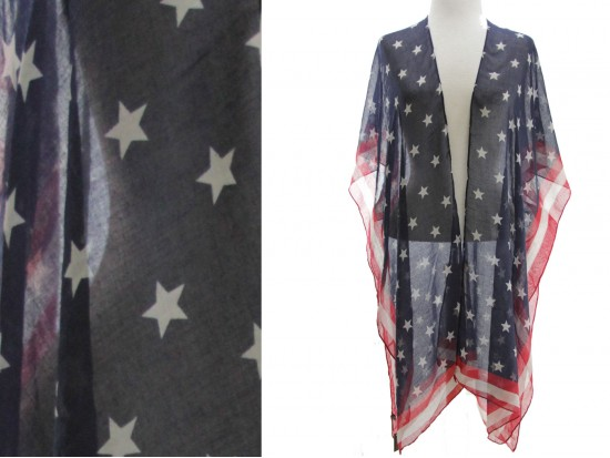 USA Flag Kimono