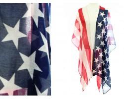 USA Flag Stars Kimono