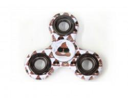 Emoji Poop Print Fidget Spinners