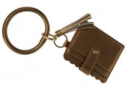 Bronze Keychain Wallet Ring Bracelet