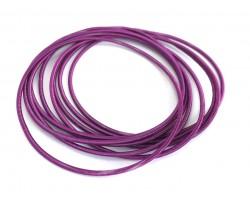 Purple Guitar String Bracelet 10pc Set
