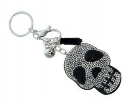 Crystal Skull Puffy Key Chain