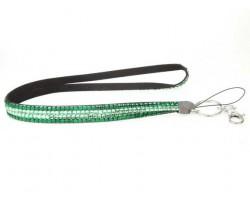 Emerald Peridot Crystal Lanyard For ID Tags or Eyeglasses