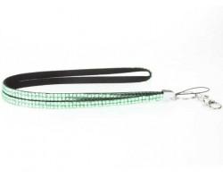 Lime Crystal Lanyard ID Tags or Eye Glasses