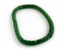 Green Genuine Nepal Hand Crafted Roll On Mission Bracelets