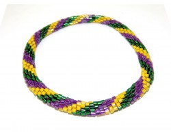 Mardi Gras Genuine Nepal Hand Crafted Bracelets