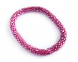 Rose Genuine Nepal Hand Crafted Roll On Mission Bracelets