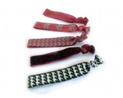 Alabama Theme Stretch Hair Tie 30 pcs
