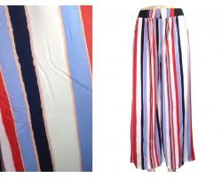 Multi Stripe Pattern Lounge Pants