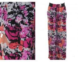 Multi Floral Pattern Lounge Pants
