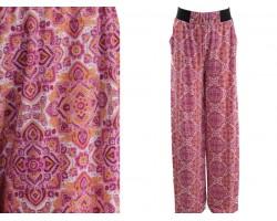 Pink Boho Pattern Lounge Pants