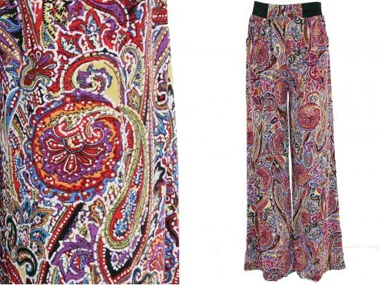 Multi Paisley Print Lounge Pants
