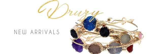 druzy jewelry