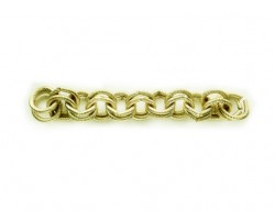 Shiny Gold 11mm Double Round Link Rope Style Chain