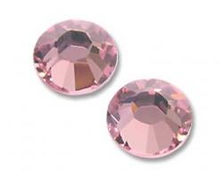 16ss 2028 Light Rose Flat Back China Crystals 10gro