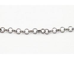 Gunmetal 5mm Rolo Chain
