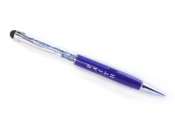 Faith Pen Stylus Crystal Filled Pen Tube