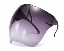 Black Bubble Face Shield