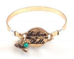 Gold Southern Belle Wire Wrap Bracelet