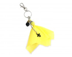 Yellow Penalty Flag Keychain